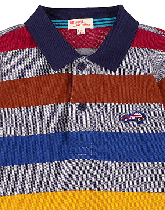 Navy Polo shirt GOSANPOL / 19W902C1POL070