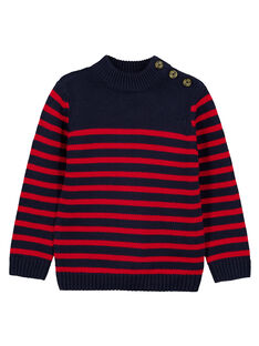Red Pullover GOJOPUL3 / 19W90243D2EF518