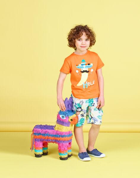 Orange T-shirt JOMARTI2 / 20S902P2TMCE405