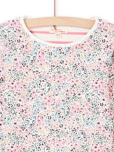 Girl's reversible long sleeve t-shirt MAKATEE1 / 21W901I4TML001