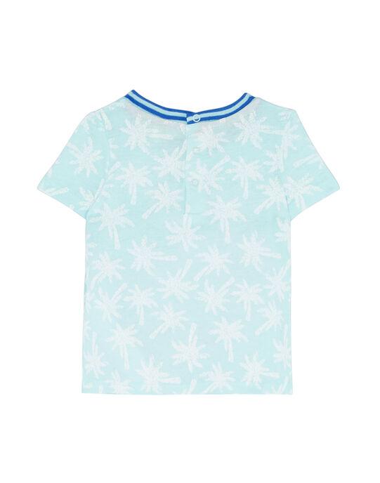 Lagoon blue T-shirt JUQUATI1 / 20SG10R1TMC210