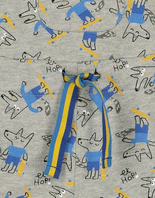 Grey Short Overalls GUBLESAC / 19WG1091SACJ908