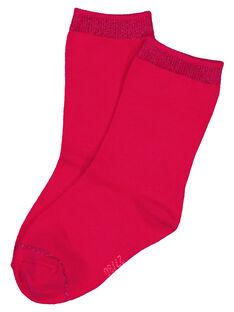 Fushia Socks GYAJOSCHO1 / 19WI0138SOQ304
