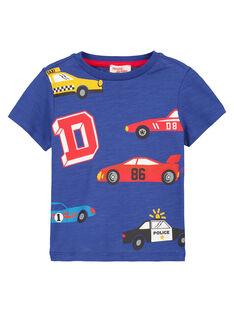 Navy T-shirt GOSANTEE3EX / 19W902C1TMC720