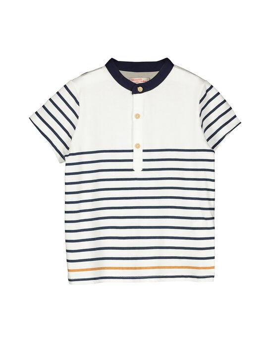 Boy's striped T-shirt FOJOUTI1 / 19S902T1TMC000