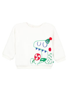 White Sweat Shirt GUNOSWE / 19WG10V1SWE000