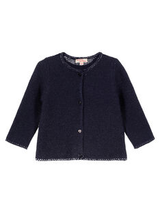 Navy Cardigan GIJOCAR2 / 19WG0931CAR070