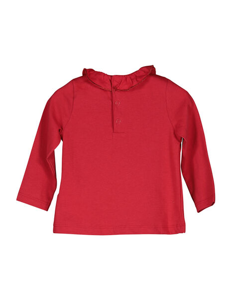 Baby girls' long-sleeved T-shirt FIJOBRA3 / 19SG0933BRA050