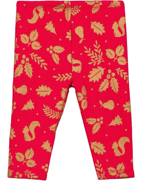 Red pants GINOPAN / 19WG09V1PANF521