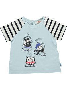 Baby boys' short-sleeved T-shirt CUBENTI1 / 18SG10G1TMC218