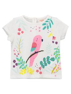 Baby girls' fancy T-shirt FICATI / 19SG09D1TMC000