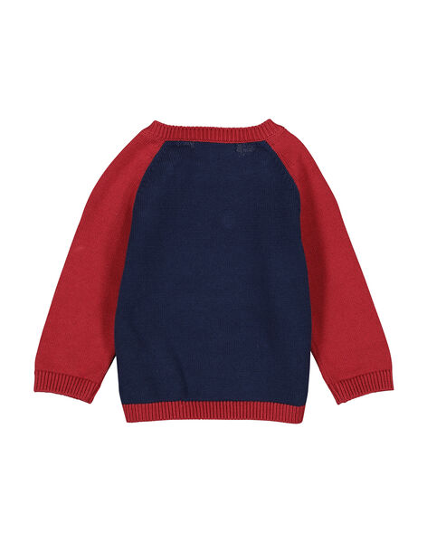 Baby boys' knit sweater FUBAPUL / 19SG1061PULF509