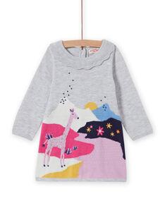 Baby girl's fancy knit dress MIPLAROB2 / 21WG09O2ROBJ920