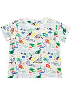 Baby boys' short-sleeved T-shirt CUMATI3 / 18SG10U3TMC099