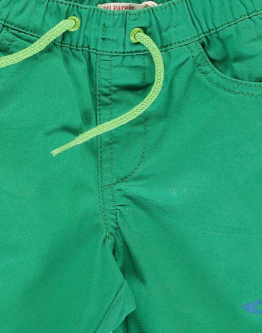 Baby boys' green shorts CUJOBER11 / 18SG10S5BER600
