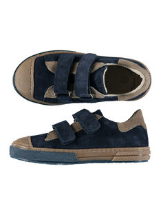 Boys? smart two-tone split leather trainers FGBASIK / 19SK3636D3F070