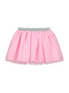 Girls' tulle skirt FALIJUP2 / 19S90122JUPD301