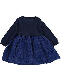 Baby girls' 2-in-1 effect dress CIKLEROB4 / 18SG09D1ROB070