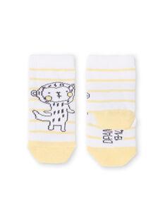 Monkey striped socks LOU1CHO2 / 21SF41H1SOQ000