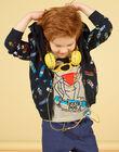 Black skateboard printed hoodie - Child boy LOPOEGIL / 21S902Y1GIL090