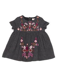 Dark brown Dress GIBRUROB2 / 19WG09K2ROBI813
