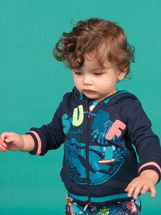 Baby boy navy blue vest LUBONGIL / 21SG10W1GIL717