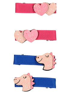 Set of girls' hair clips GYABLECLIC1 / 19WI017ABRT957