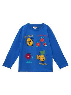 Blue T-shirt JOVITEE1 / 20S902D1TML703