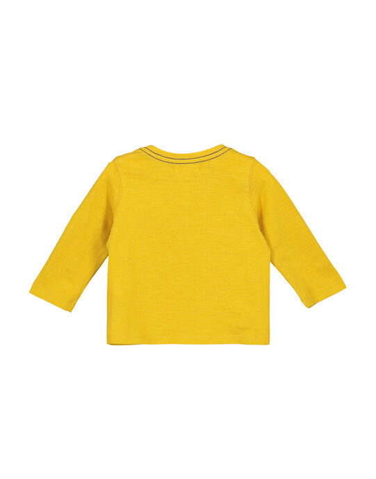 Yellow T-shirt FUJOTUN1 / 19SG1031TML412