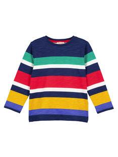 Tshirt rayé manches longues Multico GOMUTEE1 / 19W902F1TML070