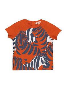 Spicy orange T-shirt FUBATI / 19SG1061TMC409