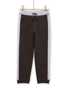 Boy's charcoal and grey jogging top MOJOJOB2 / 21W90212JGB944