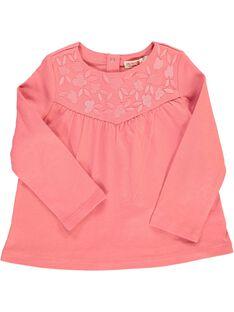 Baby girls' long-sleeved T-shirt CIJOTEE2A / 18SG09R4TML404