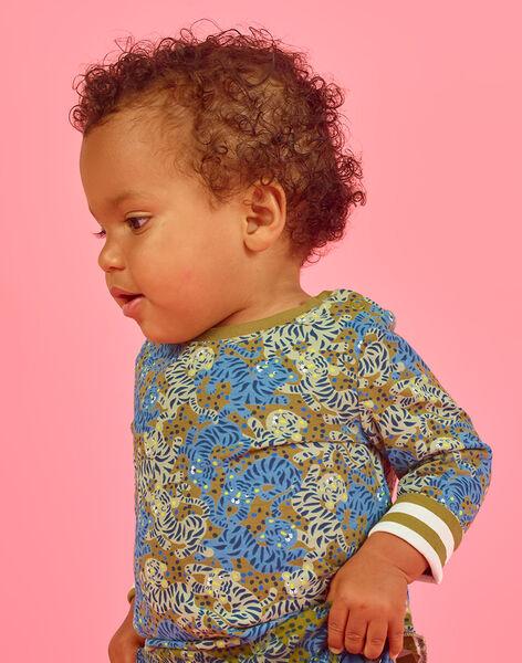 Baby Boy Reversible Long Sleeve T-shirt MUKATEE2 / 21WG10I3TML604