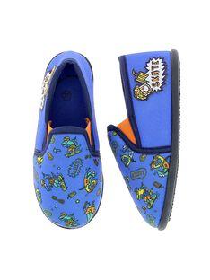 Boys' slip-on slippers CGSGSKATE / 18SK36X3D0BC218
