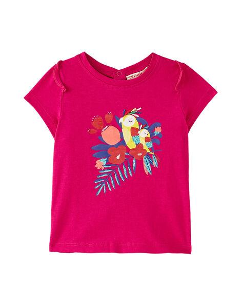 PETUNIA ROSE T-shirt JIMARTI / 20SG09P1TMC310