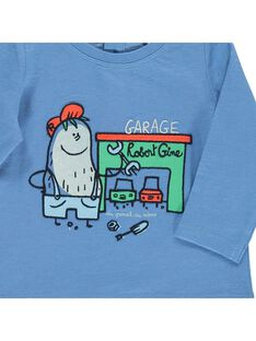 Baby boys' long-sleeved T-shirt CUKLETEE2 / 18SG10D2TML221