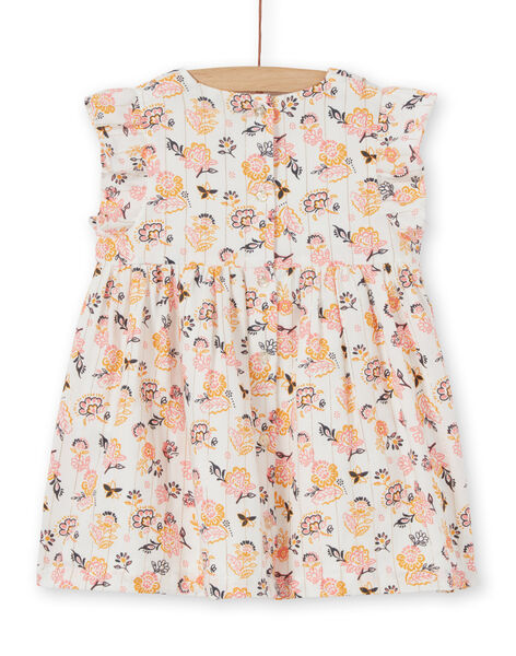 Baby girl floral dress LIPOEROB2 / 21SG09Y3ROB001