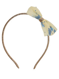 Light gold headband JYASOSERR / 20SI0181TETK008