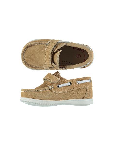 Baby boys' smart boat shoes. FBGBATBAB / 19SK38C1D4N804