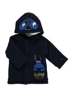 Baby boys' boiled wool coat DUBLEMAN / 18WG1061MANC205