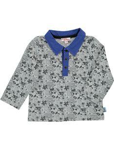 Baby boy's long sleeved polo shirt CUBENPOL / 18SG10G1POL099