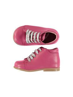 Baby girls' smart leather boots FBFBOTFUSH / 19SK3741D0F304