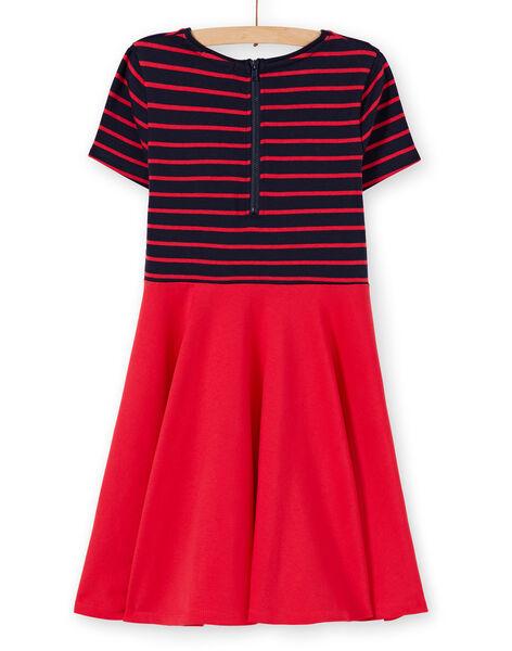 Skating dress with short sleeves in milano LAJOROB1 / 21S90131D2FC205