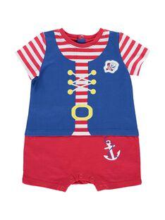 Baby boys' pirate sleepsuit CEGUGREPIR / 18SH1463GRE099