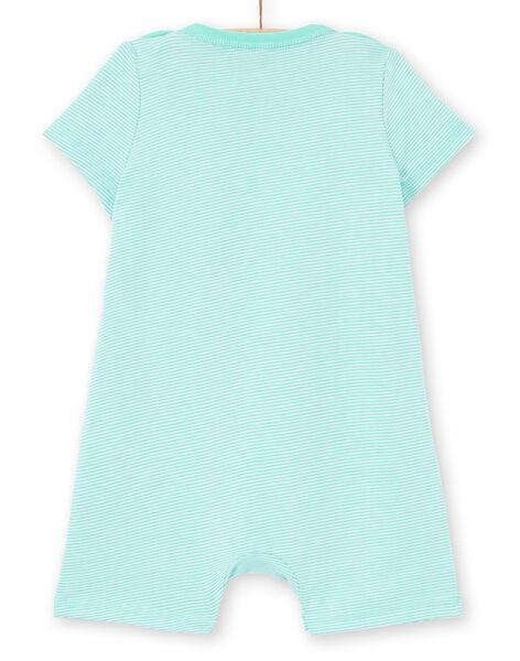 Baby boy water green sleep suit MEGAGRELIO / 21WH1431GREG626