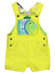 Baby boys' short dungarees FUCUSAC / 19SG10N1SACB105