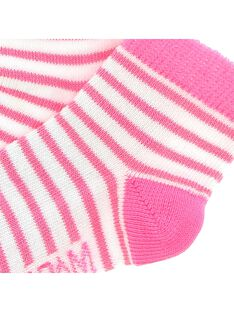 Baby girls' mid length socks CYIJOCHO11A / 18SI09S9SOQ099