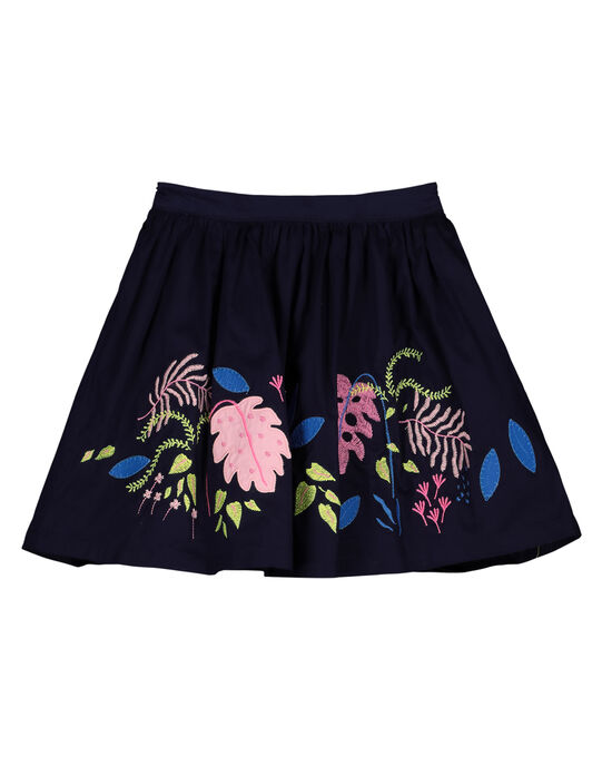Navy Skirt GABLEJUP / 19W90191JUP070
