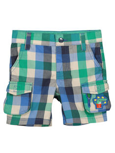 Boys' fancy shorts with pockets FOCABER4 / 19S902D4BER205